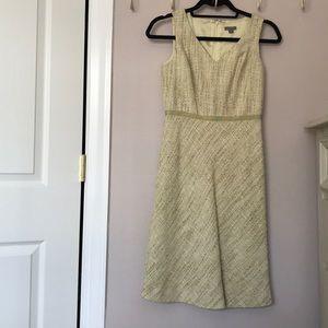Ann Taylor Tweed Dress